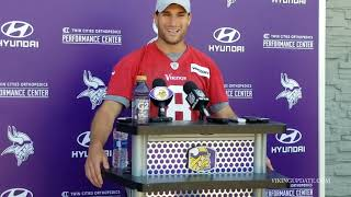 Kirk Cousins discusses minicamp progress, mistakes