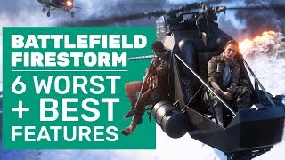 A Giant Wall Of Death And Battlefield V Firestorm's 6 Best And Worst Features
