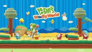 Yoshi's Woolly World 100% Walkthrough - World 2-1 Across The Fluttering Dunes
