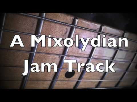Epic Mixolydian Groove Backing Track A