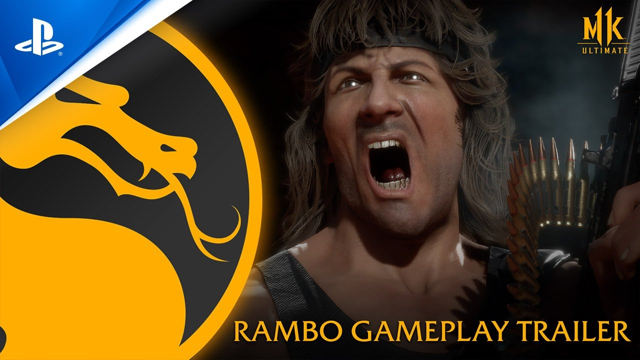 New Mortal Kombat 11 Gameplay Trailer Shows Off Rambo in Action