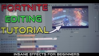 How to Make a Professional Fortnite Edit // Editing tutorial for beginners // Sony Vegas #3