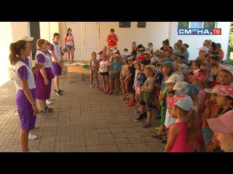 Волонтеры ВДЦ «Смена» познакомили школьников с деятельностью Центра профессий «Парка Будущего»