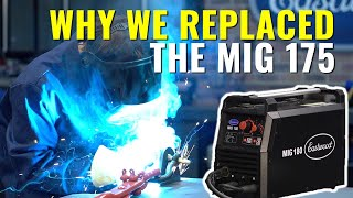 Four Reasons Why We Replaced the MIG 175 with the MIG 180 - Eastwood MIG Welders