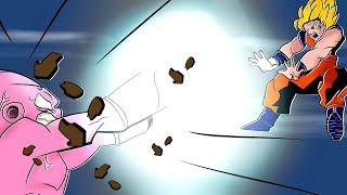 GOKU NO DESAFIO DA MAIOR GENKI DAMA X MAJIN BOO NO MINECRAFT!! (DRAGON BALL)
