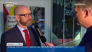 Peter Tauber zum Abbruch der Sondierungsgespräche am 20.11.17