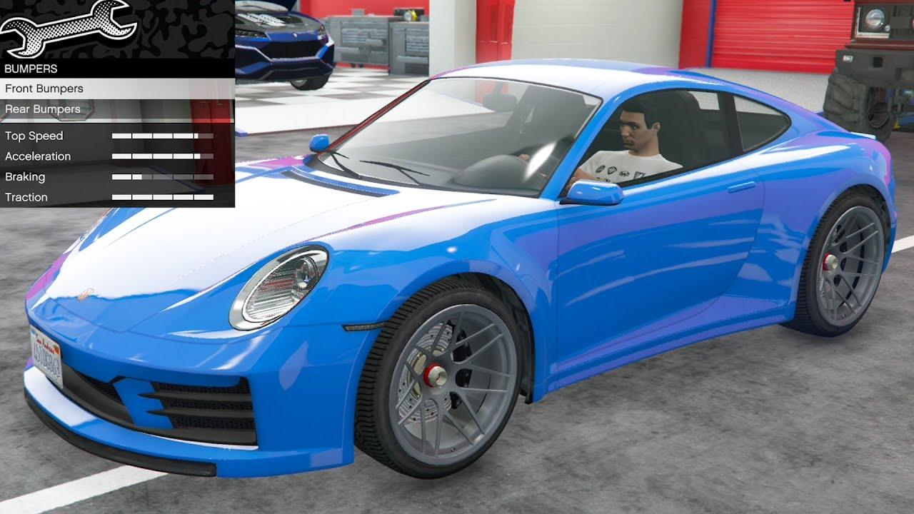 Download GTA 5 - DLC Vehicle Customization - Pfister Comet S2 (Porsche 911 (992))