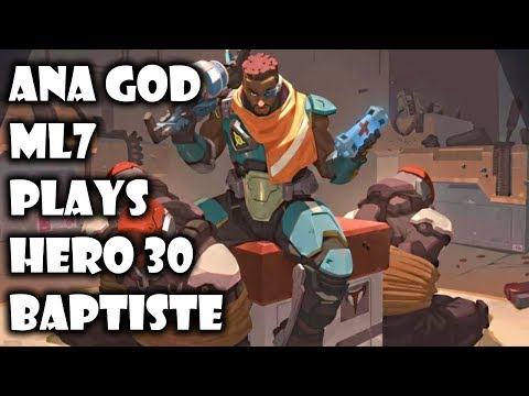ML7 Plays New Hero 30 Baptiste No Limits - Overwatch thumbnail