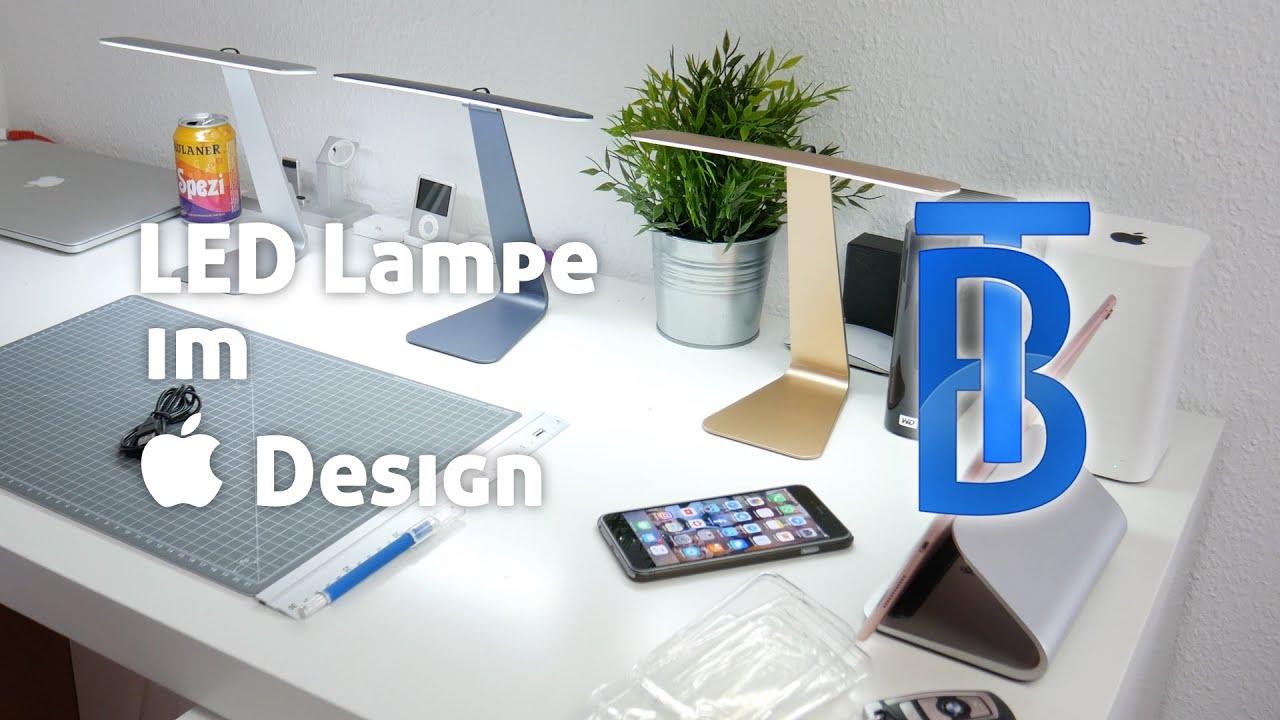 Apple schreibtisch bauen  LED Schreibtischlampe im Apple Design! [4K] - YouTube