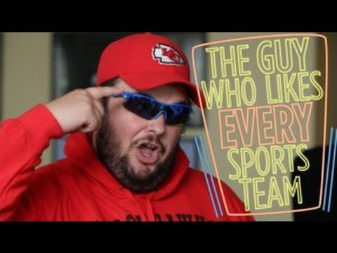 The Guy Who Likes Every Sports Team