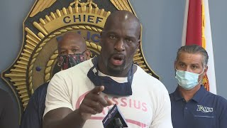 Titus O'Neil gets fired up calling for peace, honest dialogue