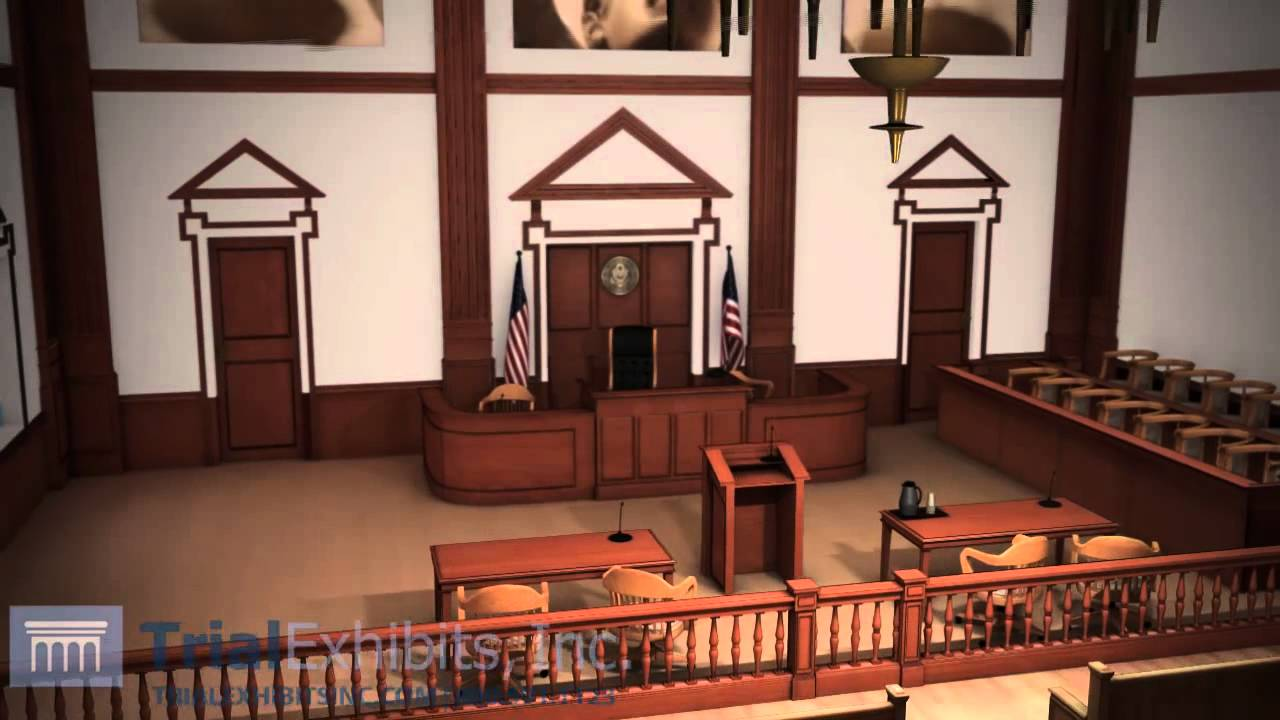 Courtroom 3D Animation - YouTube