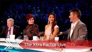 Ho ho ho! Matt and Rylan talk to the Judges after Christmas Week | The Xtra Factor Live 2016