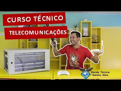 Trabalhe Com Telefonia E Internet! - Curso Técnico Em Telecomunicações