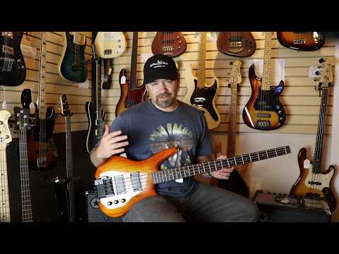 STEINBERGER BASS SPOTLIGHTED BY GUITAR WISHES