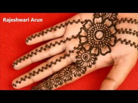 Simple arabic mehndi design for hands easy mehndi design for beginners new latest henna 2019 for Simple arabic mehndi designs for beginners home
