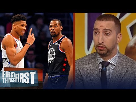 Giannis or KD? Nick and Cris disagree who\'s the next face of the league | NBA | FIRST THINGS FIRST