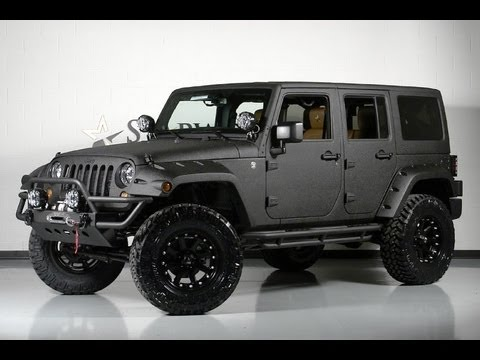 2013 Jeep Wrangler Unlimited >> Custom 2013 Jeep Wrangler Unlimited Kevlar Exterior - YouTube