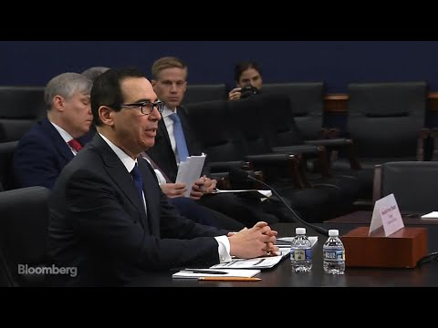 Mnuchin Says 'We're Not Looking to Get Into Trade Wars'