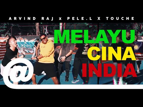 Arvind Raj - Melayu Cina India feat. Pele L. & Touche x Music Kitchen | PLSTC.CO - 2019