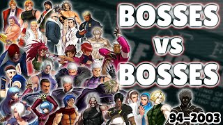 Bosses vs Bosses
