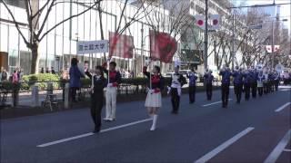 2017年2月11日に原宿表参道で開催された平成29年建国記念日「奉祝パレ...