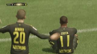 FIFA 17 pase en profundidad
