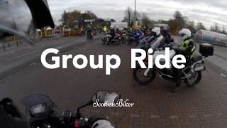 Group RIde (pre-run) for the Dumfries & Galloway Christmas Toy Run
