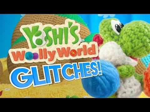YOSHI'S WOOLLY WORLD GLITCHES! - What A Glitch Mini! - Aurum