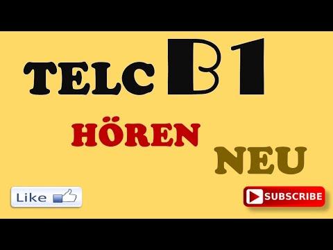 TELC B1 NEU - B1 Hören - B1 prüfung Hörverstehen test mit Lösungen