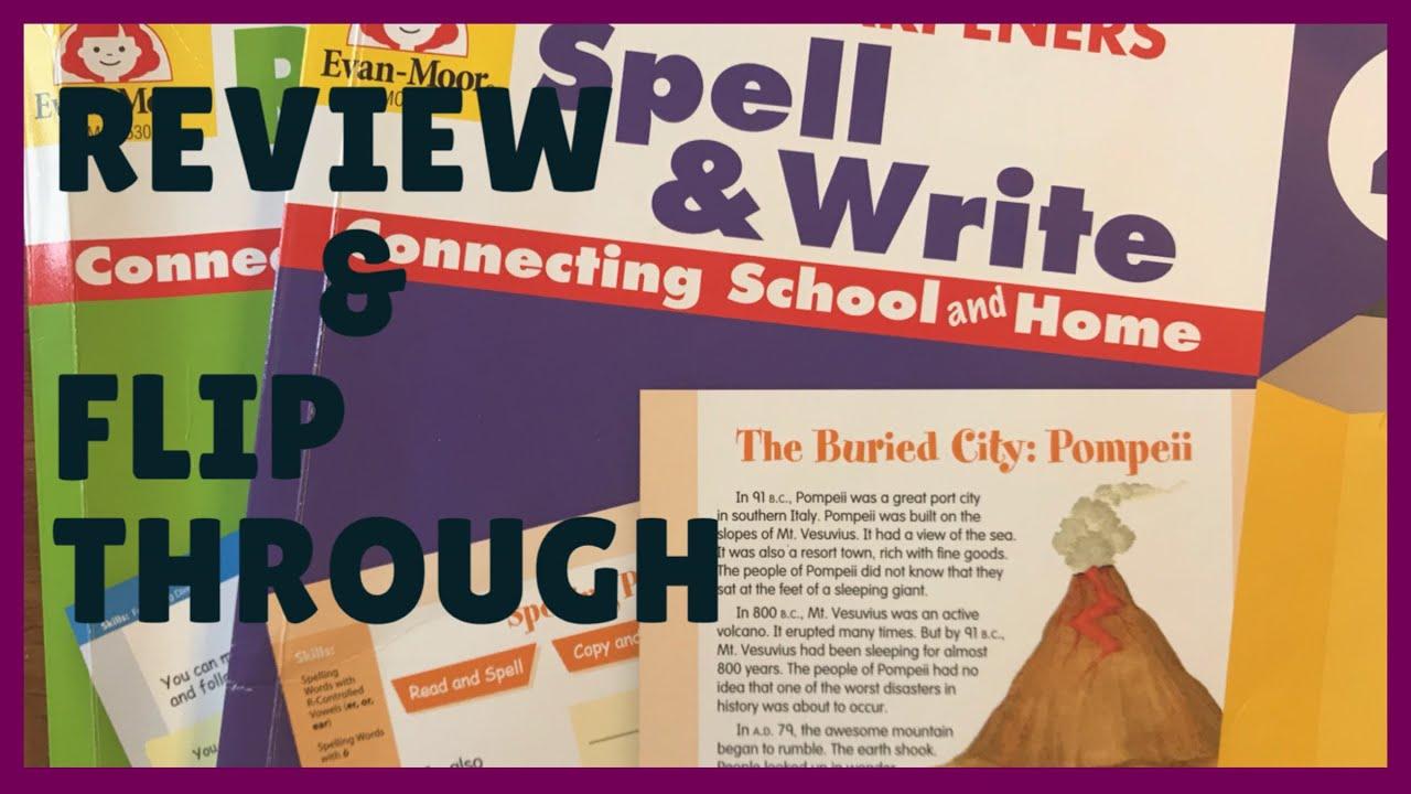 Evan-Moor Spell & Write Grade 4