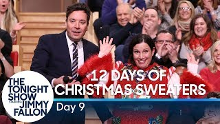 12 Days of Christmas Sweaters 2019:Day 9