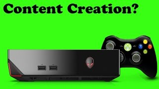 Is A (HEAVILY) Upgraded Alienware Alpha A Good Content Creation Device? Let's Find Out...