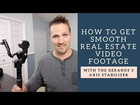 How to Get Smooth Real Estate Video Footage with the Geranos 3 Axis Stabilizer from Glide Gear