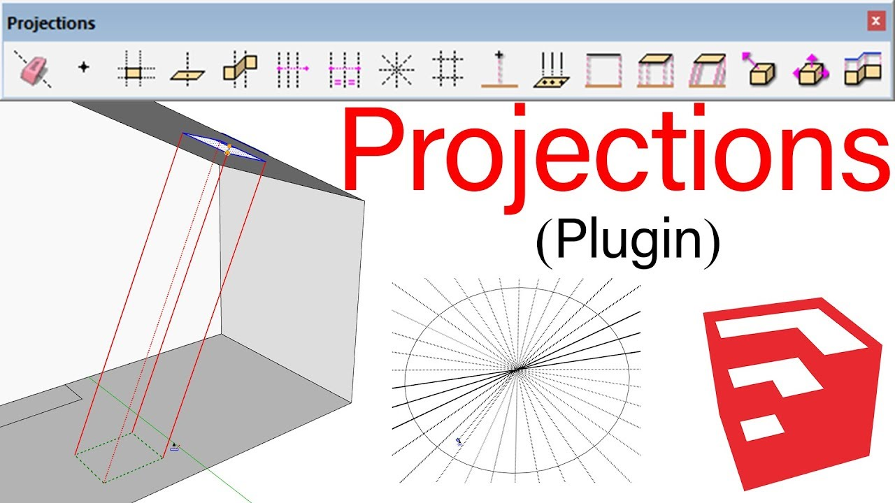 Projections Plugin For SketchUp