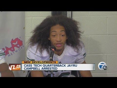 Cass Tech quarterback Jayru Campbell arrested