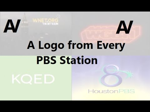 A Logo From Every PBS Station