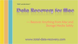 Data Recovery for Mac (Recover Anything from Mac & Storage Media)