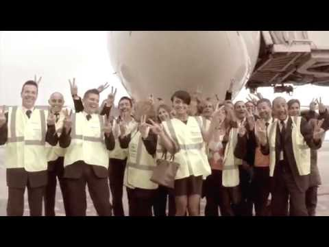 Pharrell Williams - HAPPY We are from NICE COTE D AZUR AIRPORT