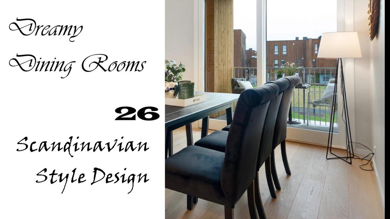Dreamy Scandinavian Dining Rooms | Interior Design Ideas