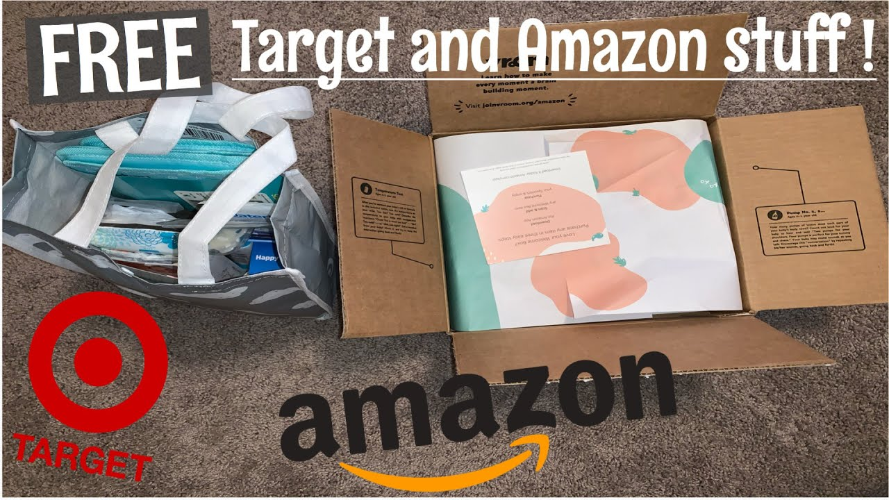 AMAZON & TARGET BABY REGISTRY WELCOME BOX | FREE Baby ...