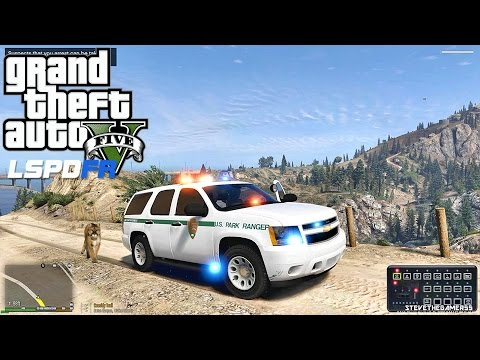 GTA 5 LSPDFR 0.3.1 - EPiSODE 198 - LET'S BE COPS - PARK RANGER PATROL (GTA 5 PC POLICE MODS)