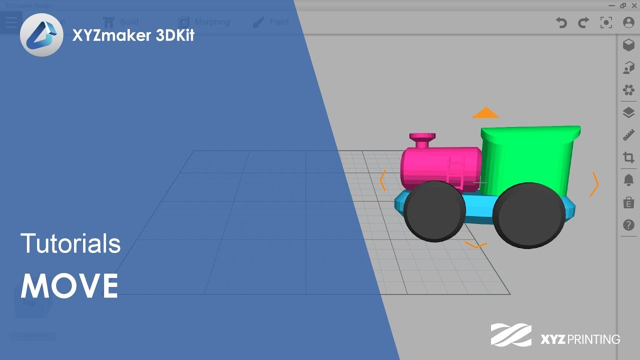 XYZmaker 3DKit Tutorials l Move