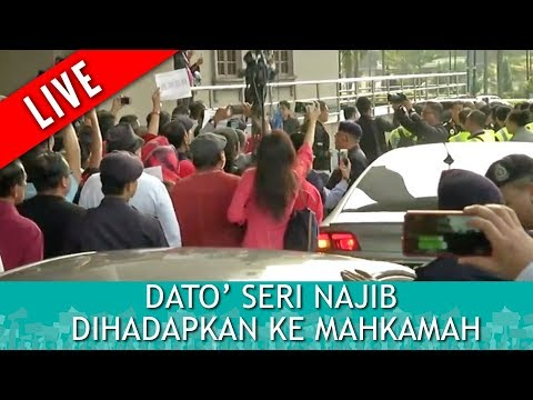 FULL: [LIVE] Dato Seri Najib Dihadapkan ke Mahkamah | Rabu 4 Julai 2018