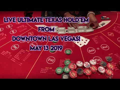 Live Ultimate Texas Hold'em From The El Cortez In DTLV! CRAZY ENDING! $200 BET!!