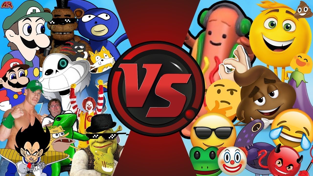 Memes Vs Emojis Mlg And Youtube Poop Vs The Emoji Movie