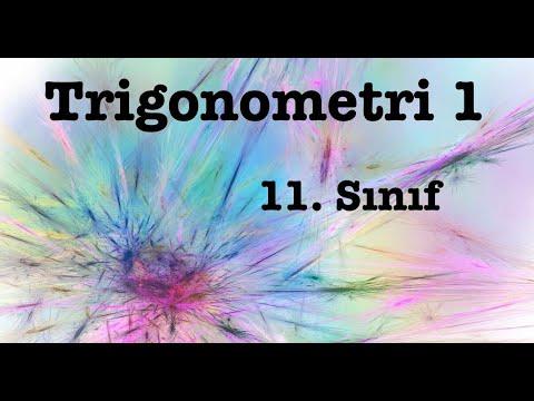 Trigonometri -1- | 11. Sınıf | Yönlü Açı | Açı Ölçü Birimleri | Birim Çember Ve Esas Ölçü