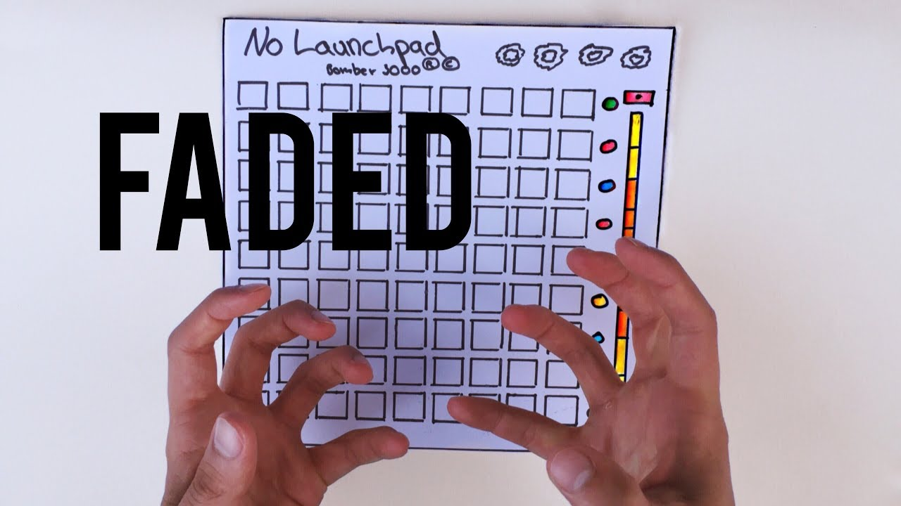 Alan Walker Faded Launchpad Cover Youtube