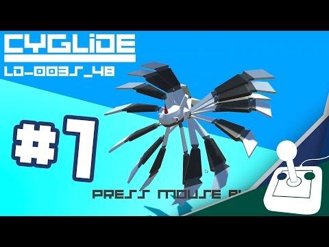 Ludum Dare 35: Shapeshift - PART 1 - Eye Guy, Andari Prime, & CyGlide