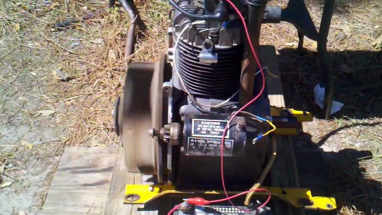 start stop wiring diagram yamaha outboard gauges kohler k301 12 hp - youtube